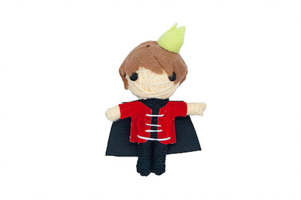 Arthur the Prince String Doll Catnip Toy
