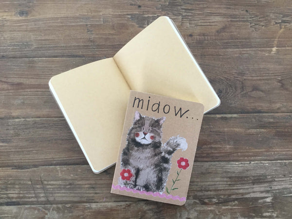 Alex Clark Miaow Little Notebook