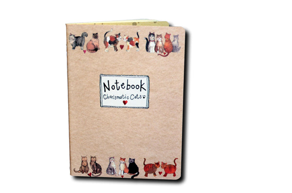 Charismatic Cats Medium Soft Notebook