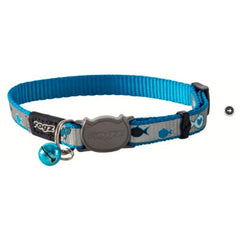 Rogz Blue Reflecto Cat Collar