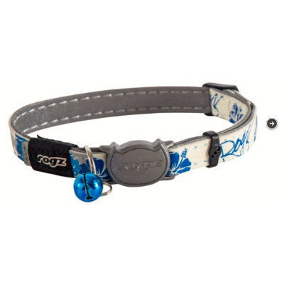 Rogz Blue GlowCat Collar