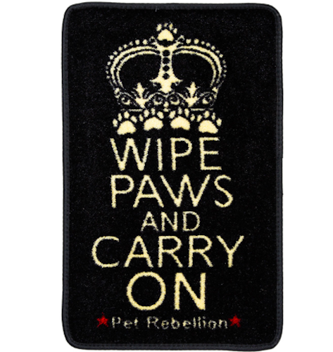 Wipe Paws & Carry On Door Mat