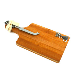 Gift Boxed Cheese Board and Knife Set