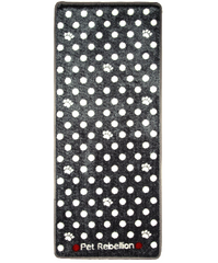 Grey Spotty Door Mat