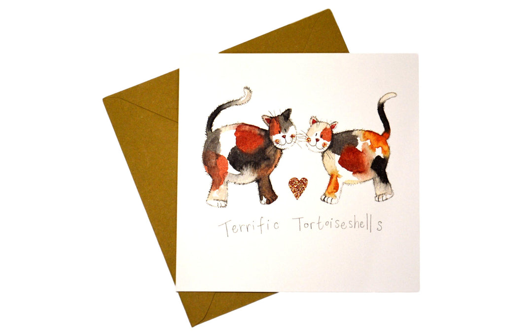 Terrific Tortoisehells Greeting Card