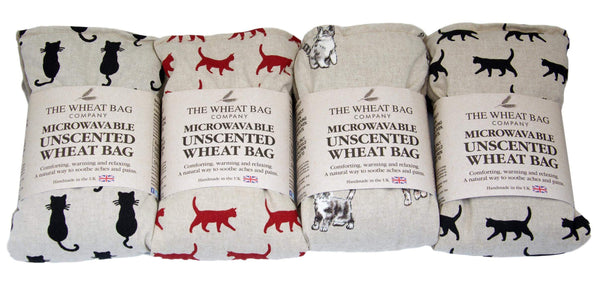 Microwavable Unscented Cat Wheat Bag