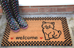 Vico Pets Welcome Kitten Cat Door Mat