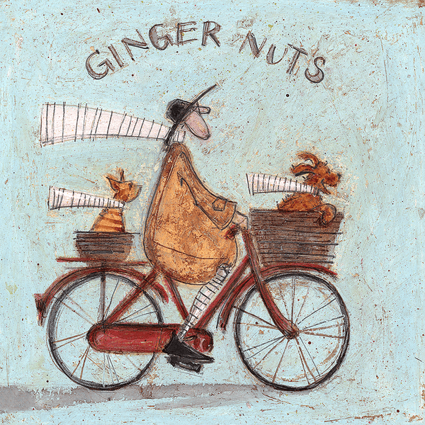 Sam Toft Ginger Nuts Canvas Print 30x30cm