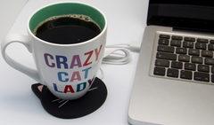 Black Cat USB Mug Warmer