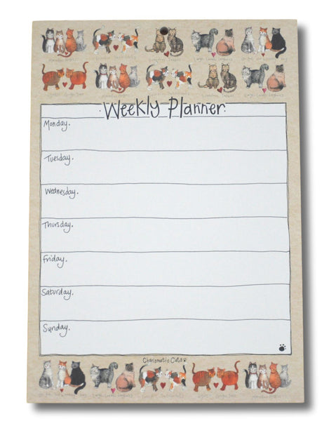 Charismatic Cats Weekly Planner