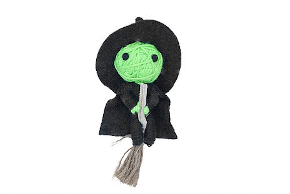 Willow the Witch String Doll Catnip Toy