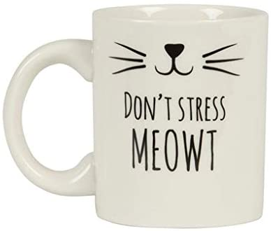 Don't Stress Meowt Mug