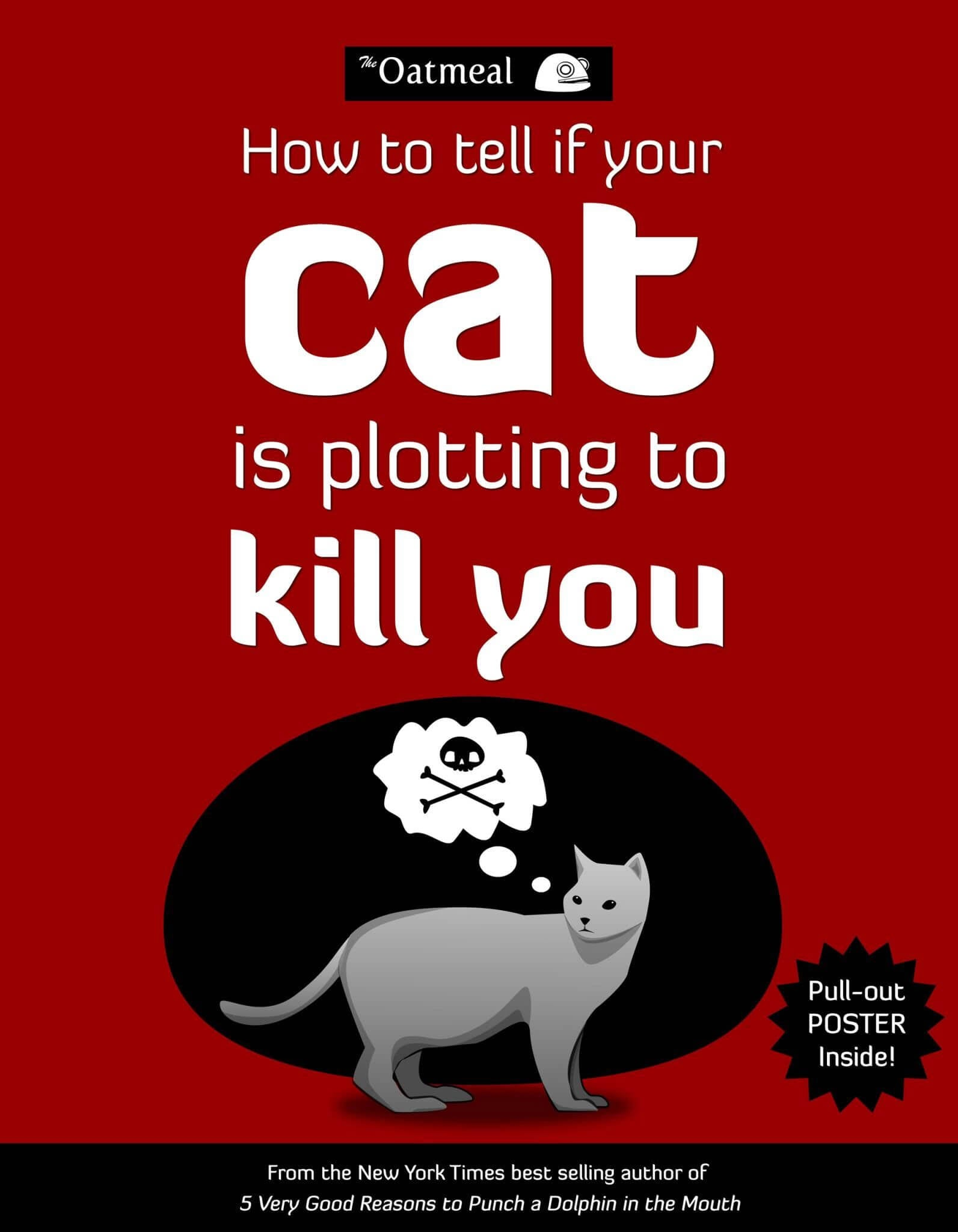 How to Tell if Your Cat is Plotting to Kill You Paperback Book
