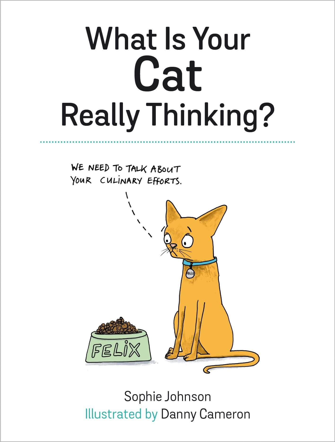What is Your Cat Really Thinking Hardback Book