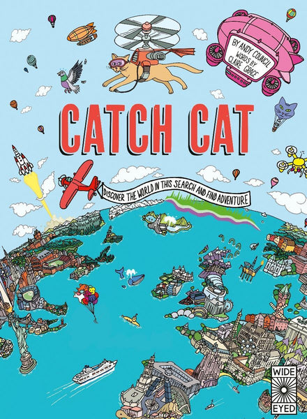 Catch Cat Hardback Book