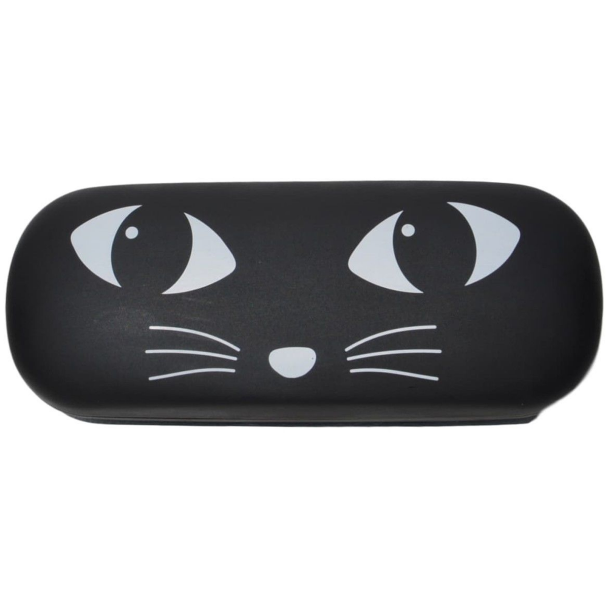 Cat Design Hard Glasses Case
