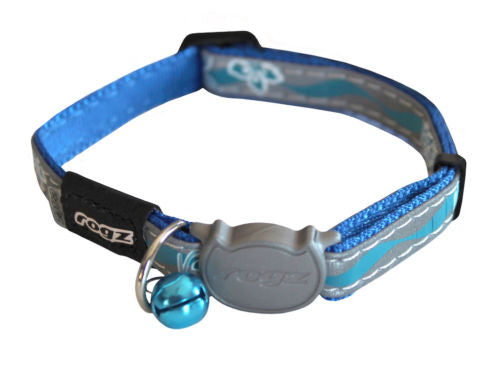 Rogz Blue NightCat Collar