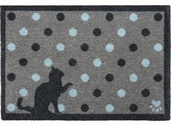 Spotty Cat Door Mat