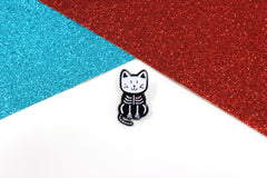 Cat Scan Enamel Pin