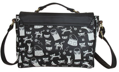 Daydream Cat Satchel Cross Body Shoulder Bag