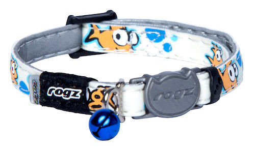 Rogz Goldfish GlowCat Collar