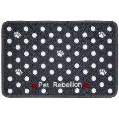 Spotty Grey Mat Medium