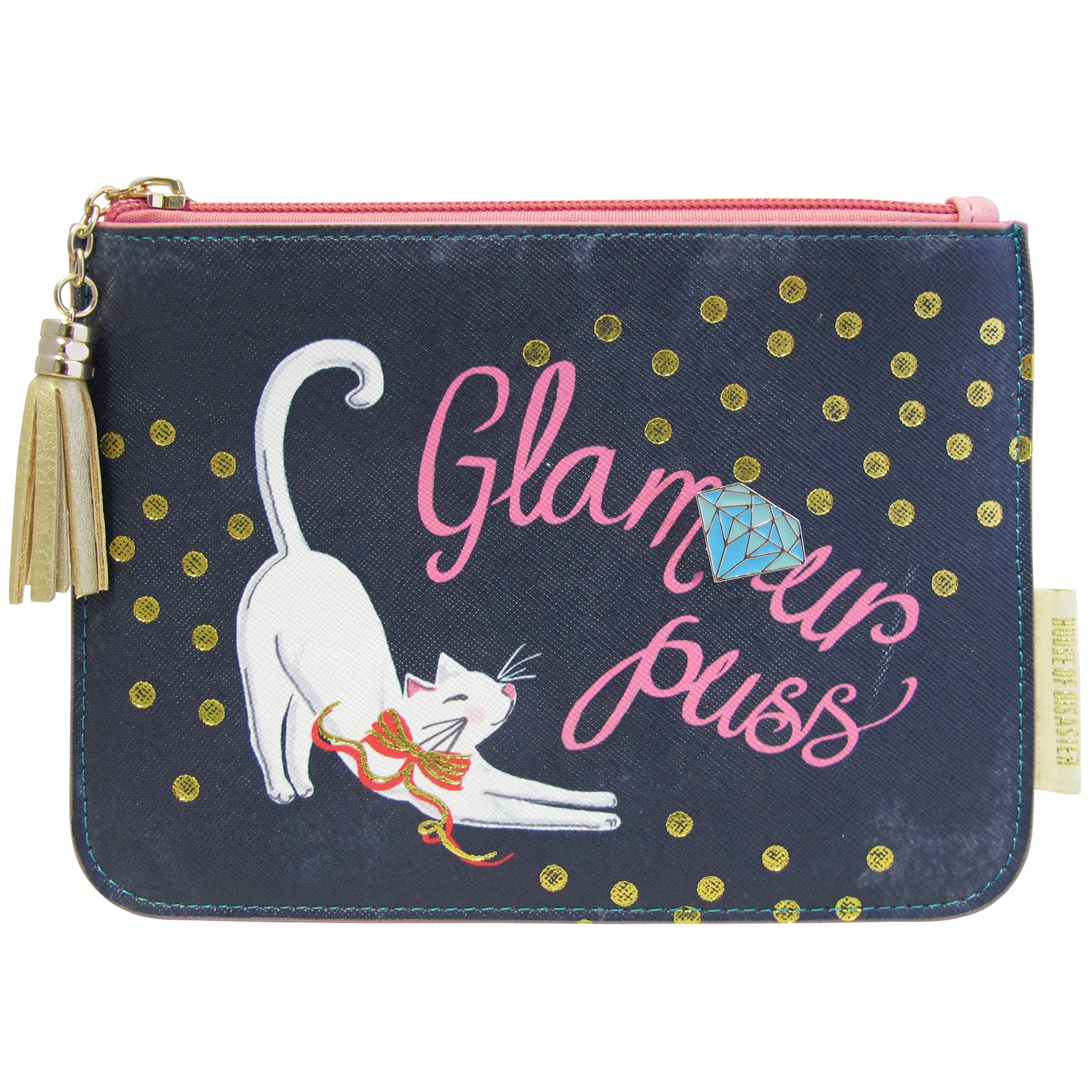 Glamour Puss Make-Up Bag / Pouch
