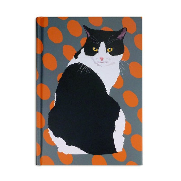 Black and White Cat Notebook