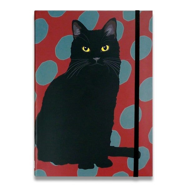 Black Cat Pocket Notebook