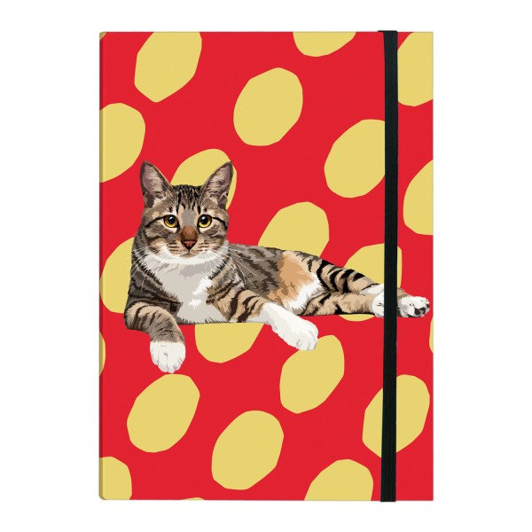 Tabby Cat Pocket Notebook