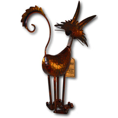 Long Eared Standing Copper Effect Cat