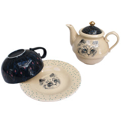 Meow All in One Tea Set