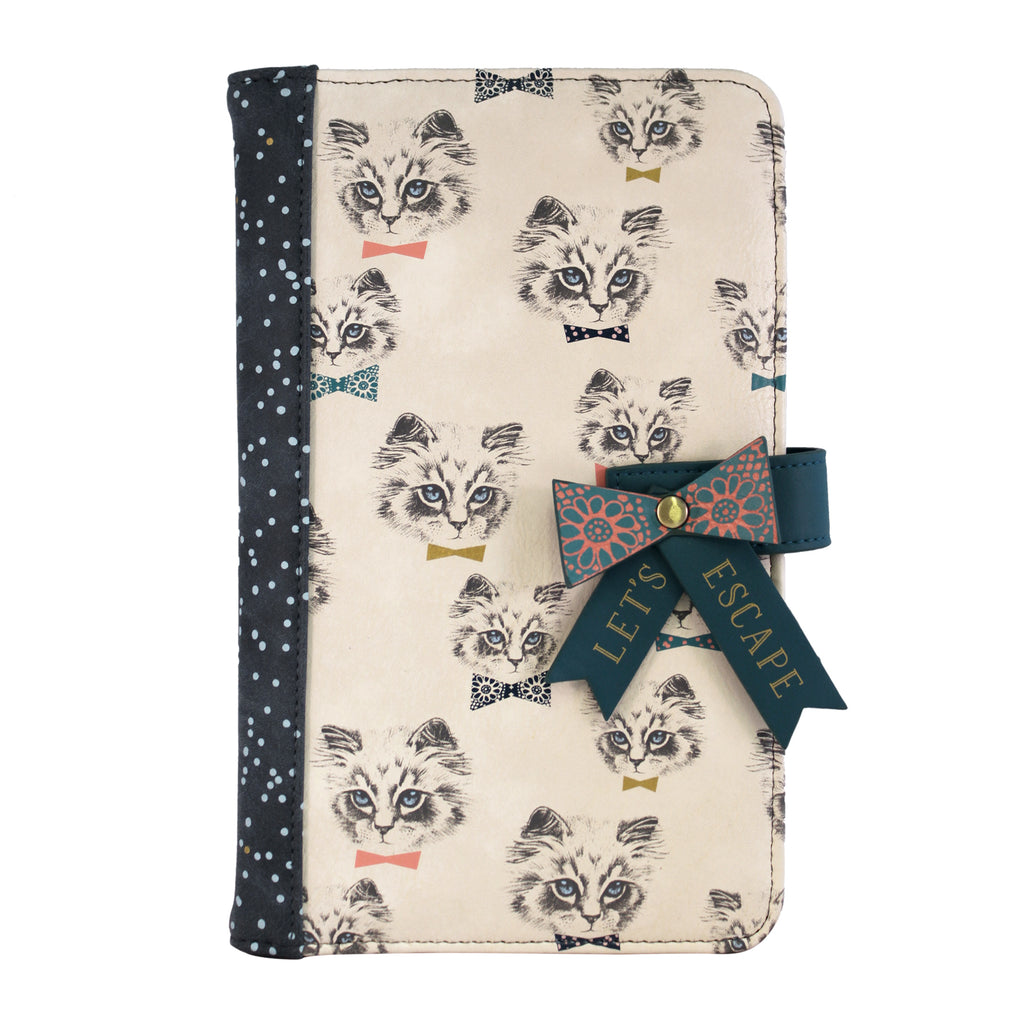 Cat Design Travel Wallet / Purse