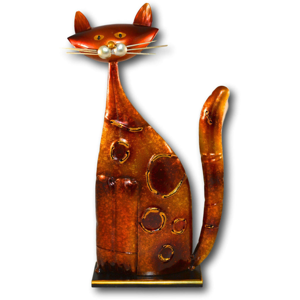 Orange Metal Cat