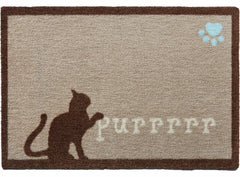 Purrrrr Cat Door Mat