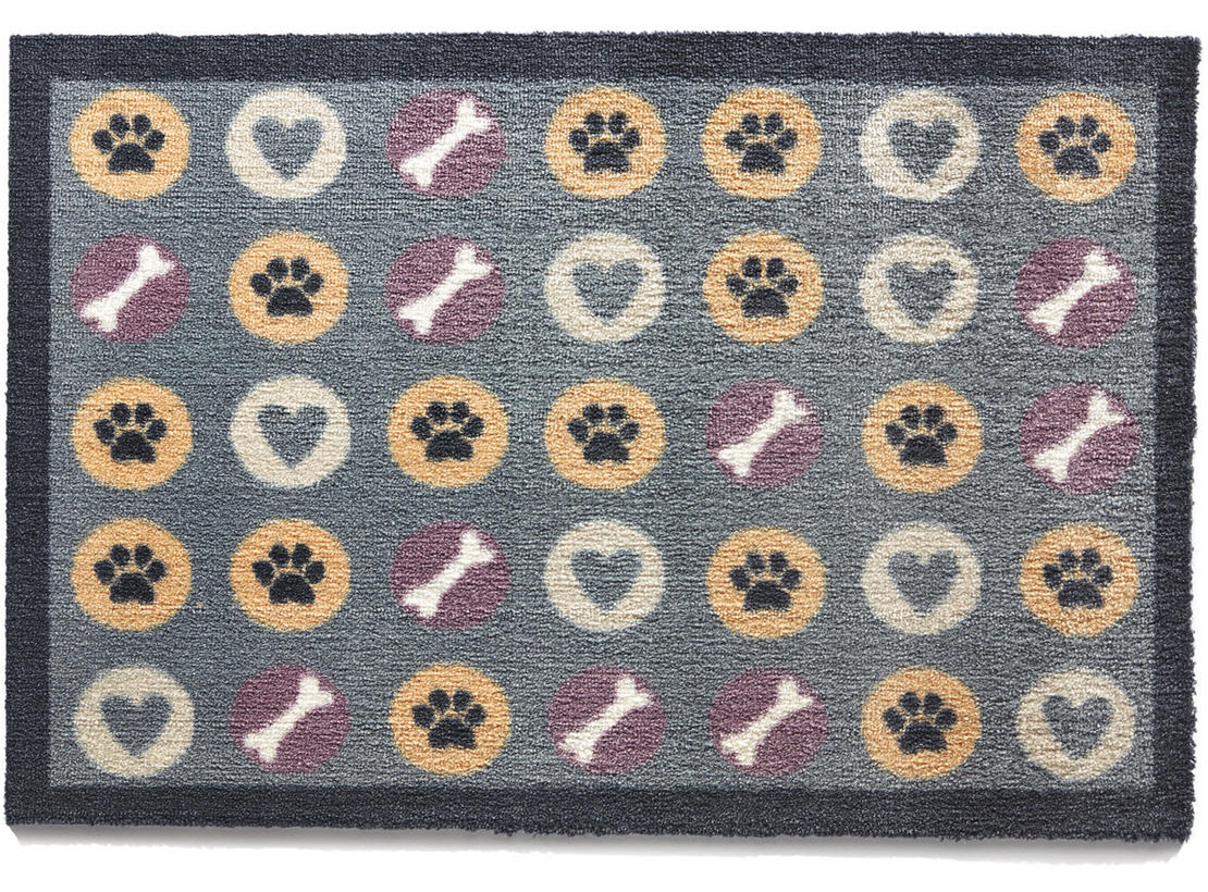 Spotty Cat & Dog Door Mat