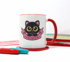 The Cat Made Me Do It Mug