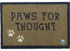 Paws for Thought Door Mat