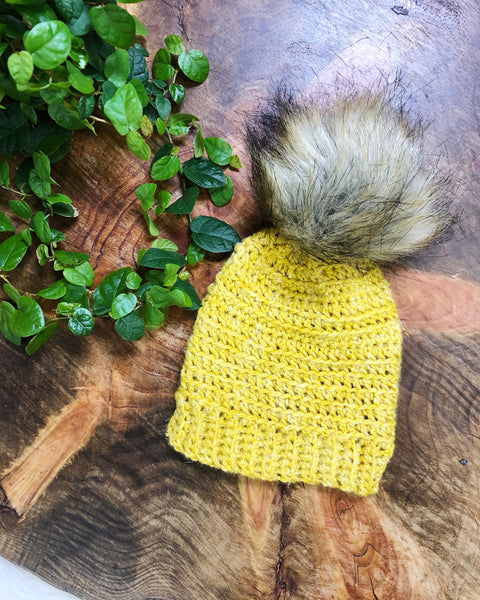 Yellow Infant Beanie