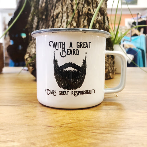 With A Great Beard Mug