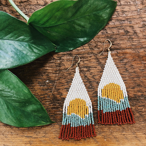 Boho Beaded Earrings
