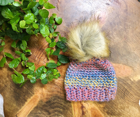 Multi-colored Infant Beanie