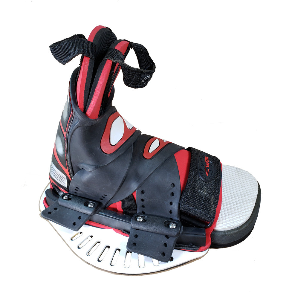 CWB Connelly Grip Wakeboard Bindings Blem Boots Medium