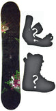 149cm  2B1 Checker Camber Snowboard, Build a Package with Boots and Bindings