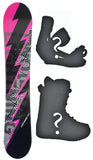 151cm 2B1 Lightning Camber Mens Snowboard, Build a Package with Boots and Bindings.