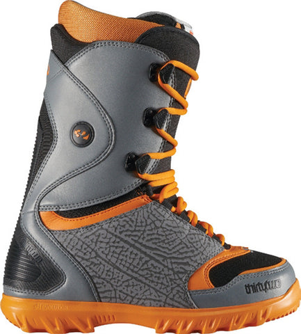 32 Lashed Snowboard Boots Sizes Mens 9 Grey/Orange