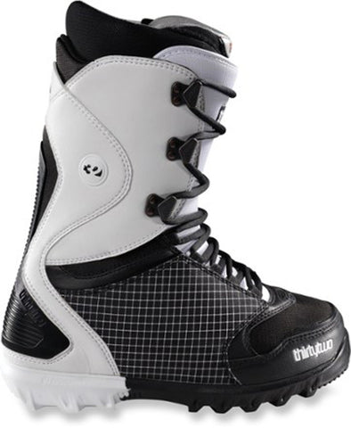 32 Lashed Snowboard Boots Sizes Mens 9 Black/White