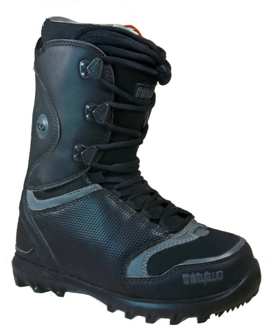 32 Lashed Snowboard Boots Size Mens 9 Black/Grey