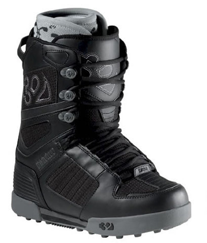 32 Prion Snowboard Boots Size Kids 1 Black