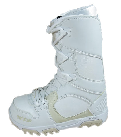 32 Prion Snowboard *Blem* Boots Size Womens 6 Tan/White